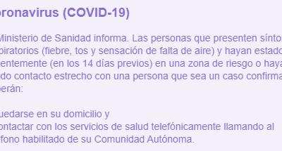 COVID – 19