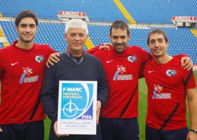 reconocimiento FIFA